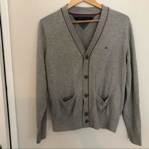 Tommy Hilfiger cardigan sweater.